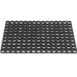 Hamat Domino 60 x 80 cm | Rubber buitenmat met ringen | 22 mm dik